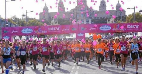 Una marea rosa recorre Barcelona contra el cáncer de mama - La Razón | cancer de mama | Scoop.it
