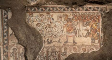 Antiguo mosaico podría representar a Alejandro Magno | LVDVS CHIRONIS 3.0 | Scoop.it