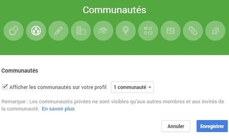 Les Communautés Google+ désormais visibles sur le profil Google Plus - #Arobasenet | ALL OF GOOGLE PLUS WITH PHILIPPE TREBAUL ON SCOOP.IT | Scoop.it