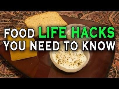 10 Unbelieveable Food Life Hacks you need to know. | War In The Ukrain | Scoop.it