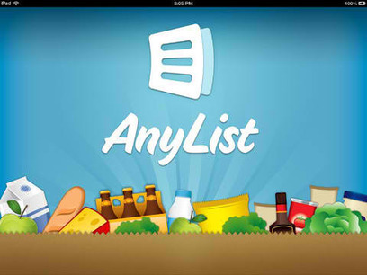 Popular Grocery List App AnyList Goes Universal With Full iPad Support - AppAdvice | iPhones and iThings | Scoop.it