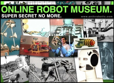 Robot Treasure Discovered Online:  an Interview with the Creator of Cyberneticzoo.com | The Robot Times | Scoop.it