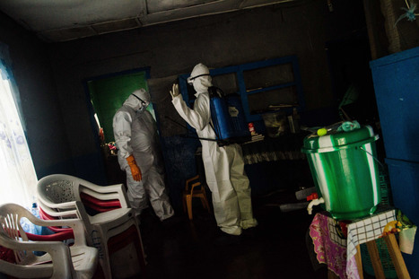 Liberia's Ebola Routine: Wear Your Temperature On Your Lapel | Fit for life and work | Scoop.it