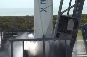 SpaceX completes static fire ahead of JCSAT-14 mission | NASASpaceFlight.com | The NewSpace Daily | Scoop.it
