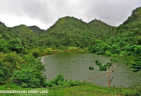 Mystic Green Lake of Binanderahan | Bicol | Scoop.it