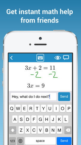 MathChat - Math homework help from friends | The 21st Century | Scoop.it