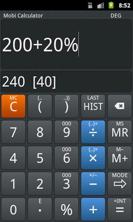 Mobi Calculator PRO v1.3.15 | ApkLife-Android Apps Games Themes | Android Applications And Games | Scoop.it
