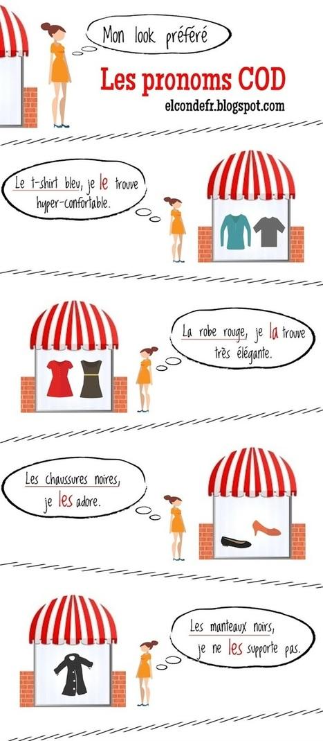 Les pronoms complément d'objet direct   TICE et langues   Scoop.it