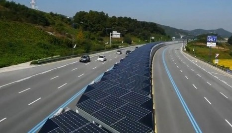 Video: This Korean highway with an integrated solar panel array is the future | Green Geek News | Scoop.it