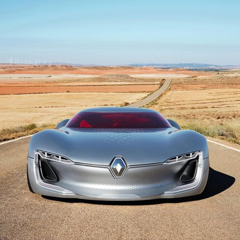 Renault replaces doors with a sliding roof for Trezor concept car | DESIGN NOW | Scoop.it