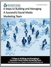 White Paper: 6 Steps to Building and Managing A Successful Social Media Marketing Team | Healthcare communications | Scoop.it
