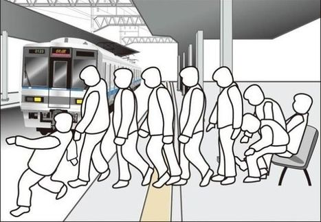 A Simple Design Tweak May Keep Drunk People From Falling On Train Tracks | Desife | Scoop.it