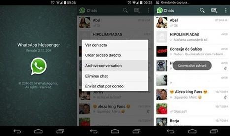 Cómo copiar las conversaciones de WhatsApp a otro móvil | MLKtoSCL | Scoop.it