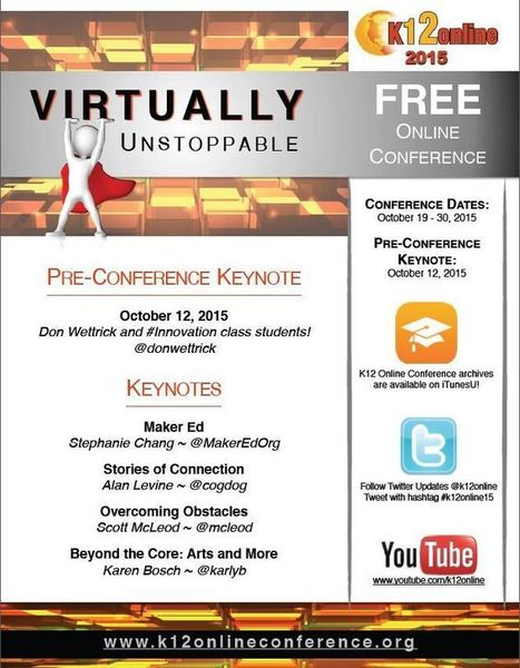 2015 Keynotes and Marketing Flyer | K12 Online ConferenceK12 Online Conference | Durff | Scoop.it