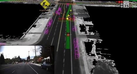 Les voitures automatiques de Google arpentent désormais les rues | Stratégie d'entreprise | Scoop.it