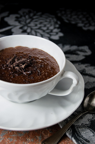 Recipe Taster:: Chocolate rum quinoa pudding and a visit to Nantes | À Catanada na Cozinha Magazine | Scoop.it