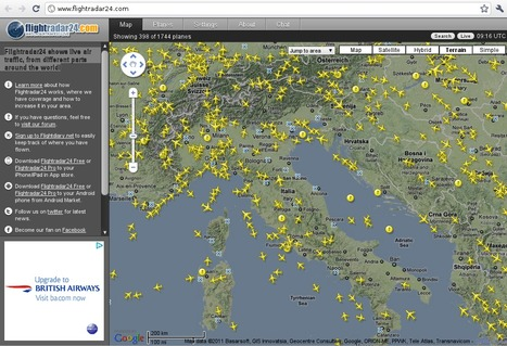 Flightradar24.com - Live flight tracker! | News IT dal mondo | Scoop.it