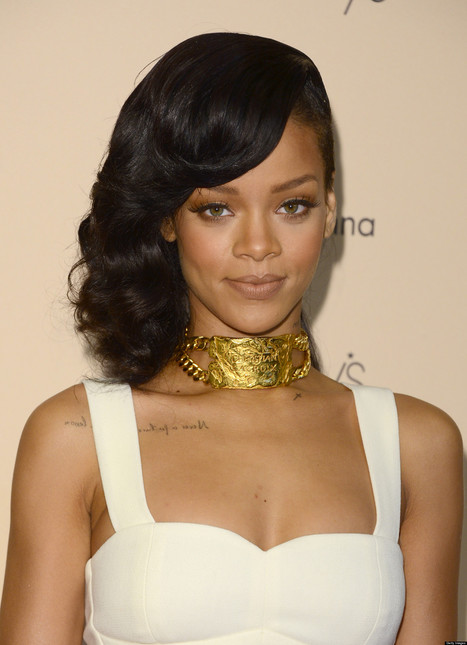 Rihanna, Chris Brown Fight After Karrueche Tran Parties With Singer (Report) - Huffington Post | cover bands | Scoop.it