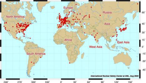 Risque nucléaire : où êtes-vous sur la carte du risque? | ECONOMIES LOCALES VIVANTES | Scoop.it