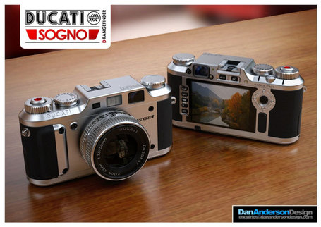 PhotoRumors.com | Dan Anderson | Ducati Sogno digital rangefinder concept design | Ductalk | Scoop.it