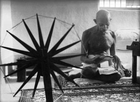 What would Gandhi have thought about Bitcoin?  | banking | Scoop.it