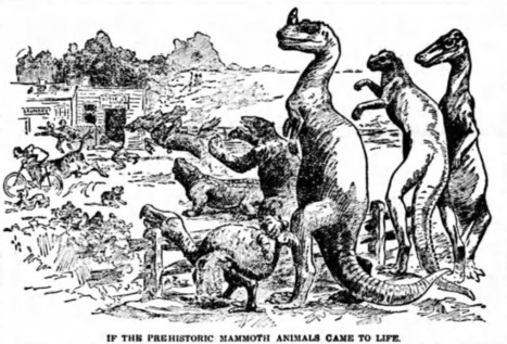 That Time a Newspaper Published a Guide to Hunting Dinosaurs | Strange days indeed... | Scoop.it