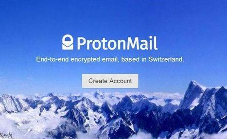 ProtonMail, le webmail anti-NSA, lève 2 millions de dollars | Société de surveillance | Scoop.it