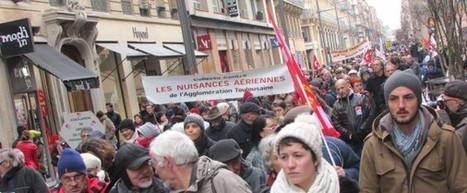 Aéroport de Toulouse-Blagnac : 700 personnes ont manifesté contre la privatisation | Toulouse La Ville Rose | Scoop.it