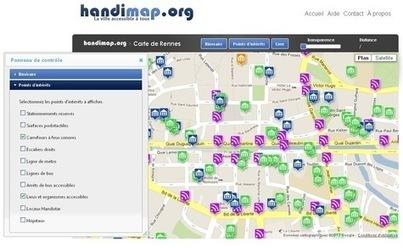 Open data au service du HANDICAP : le mobilier urbain passé à la loupe | actions de concertation citoyenne | Scoop.it