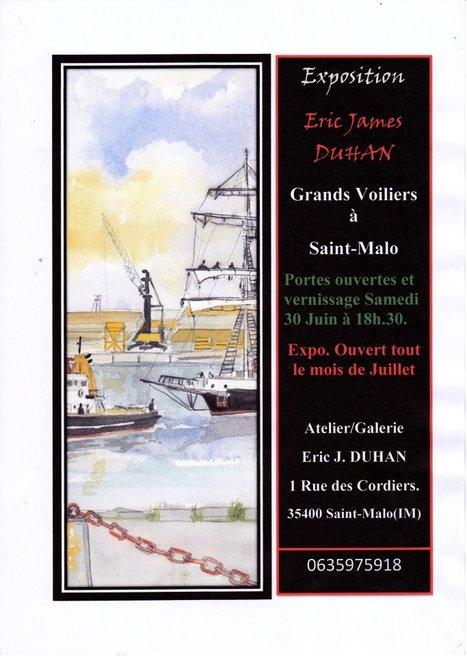 Exposition sur les Grands Voiliers à Saint-Malo - Juillet 2012   Voyages et Gastronomie depuis la Bretagne vers d'autres terroirs   Scoop.it