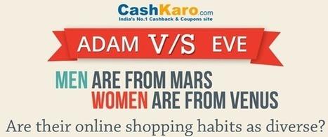 Interesting Online Shopping Habits Of Indian Men & Women | Social Media and Internet Marketing | Scoop.it