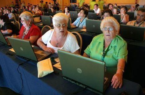 El 64% de los mayores de 55 años no ha visitado Internet en su vida | Brecha digital | Scoop.it