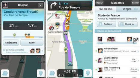 La version 3.5 de Waze est disponible sur iOS et Android ! | Badjack | Scoop.it