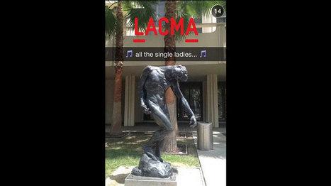 Quand un musée débarque sur Snapchat | DIDACTIQUE DE L'HISTOIRE & GEOGRAPHIE | Scoop.it