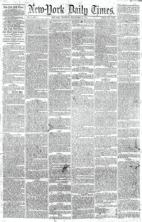 Photojournalism Minus the 'Photo': A Look Back at Newspapers Before Photography | xposing world of Photography & Design | Scoop.it