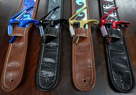 Guitar Strap with Capo Holder | Best Gift For Musician | Scoop.it