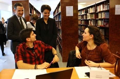 Plan « bibliothèques ouvertes » : améliorer l'accueil des étudiants en bibliothèques universitaires   Najat Vallaud-Belkacem   Préparation aux concours   Scoop.it