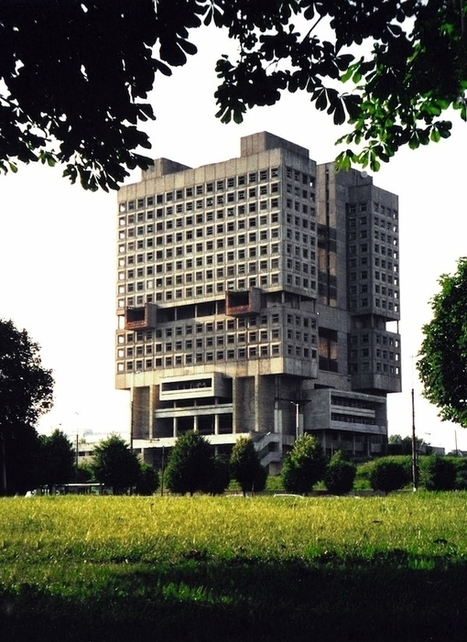 Weird Side of Soviet Architecture | English Russia | Interactive Architecture | Scoop.it