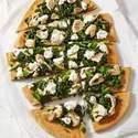 Broccoli Rabe & Chicken White Pizza   Things I Like   Scoop.it