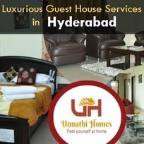Hyderabad Guest Houses with Quality Room Services | Guest House in Hyderabad | Scoop.it