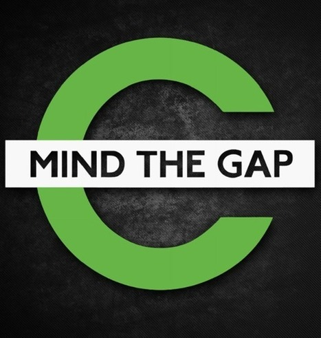 Mind The Gap Sticker | KCCO Stickers | Scoop.it