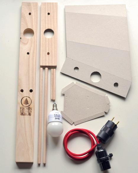 Muchen Lamp – DIY Lamp by Hong-sheng Chen » Yanko Design | L'Etablisienne, un atelier pour créer, fabriquer, rénover, personnaliser... | Scoop.it