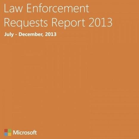 Microsoft: Transparenz zum behördlichen Datenhunger | Staatliche Überwachung | Scoop.it