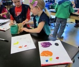 » A little color mixing fun…. Georgetown Elementary Art Blog | Recording  Arts Musician | Scoop.it