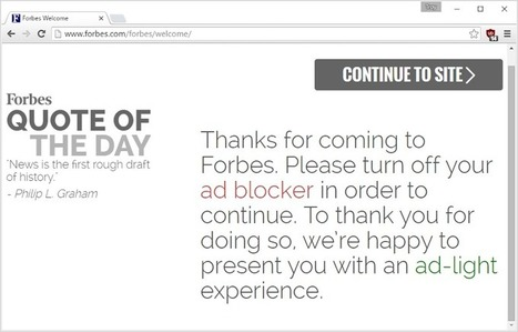 Websites are still screwing up user experiences via @troyhunt | Digital Transformation of Businesses | Scoop.it