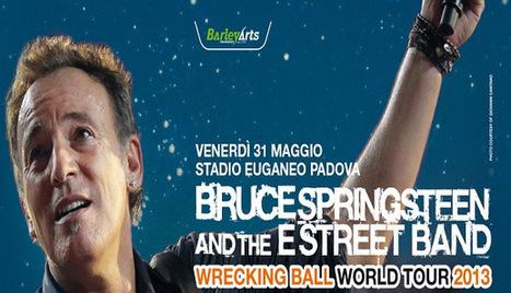 Bruce Springsteen joue encore tout l'album «Born to Run » à Padoue - le Blog Bruce Springsteen | Bruce Springsteen | Scoop.it