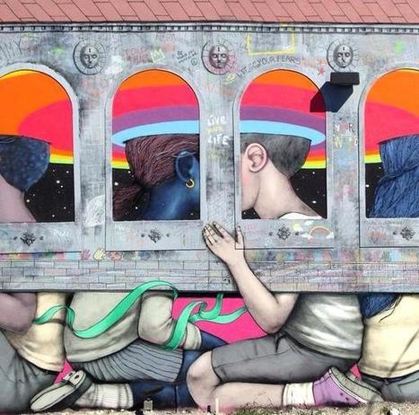 Seth Globepainter with Kislow Wynwood, Miami | Street Art Planet | Scoop.it