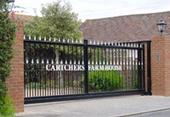Sliding gates offer a secure and convenient solution | Cantilever Gates | Scoop.it