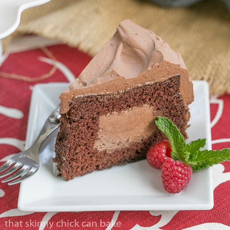 Tunnel of Mousse Cake | Food | Scoop.it