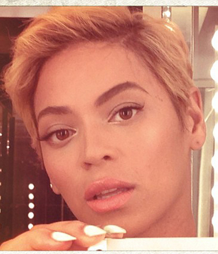 Who Has The Best Short Hairstyle Beyonc 233